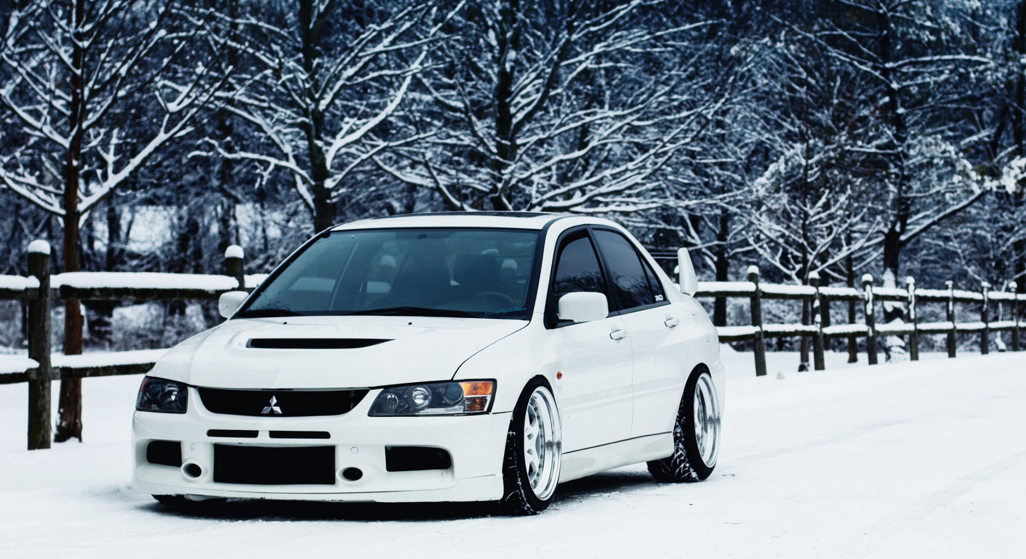 Tuned Lancer Evo Wallpaper 2048x1116 ID57390 2048x1116