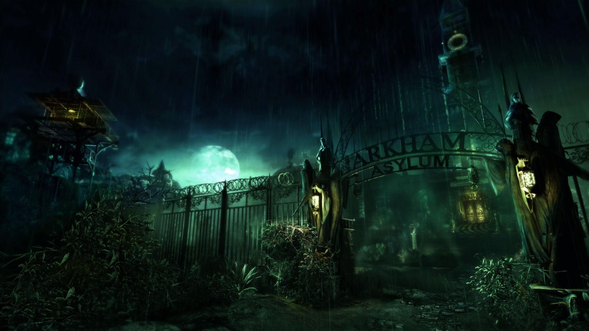 asylum batman arkham background wallpapers cool desktop 1920x1080
