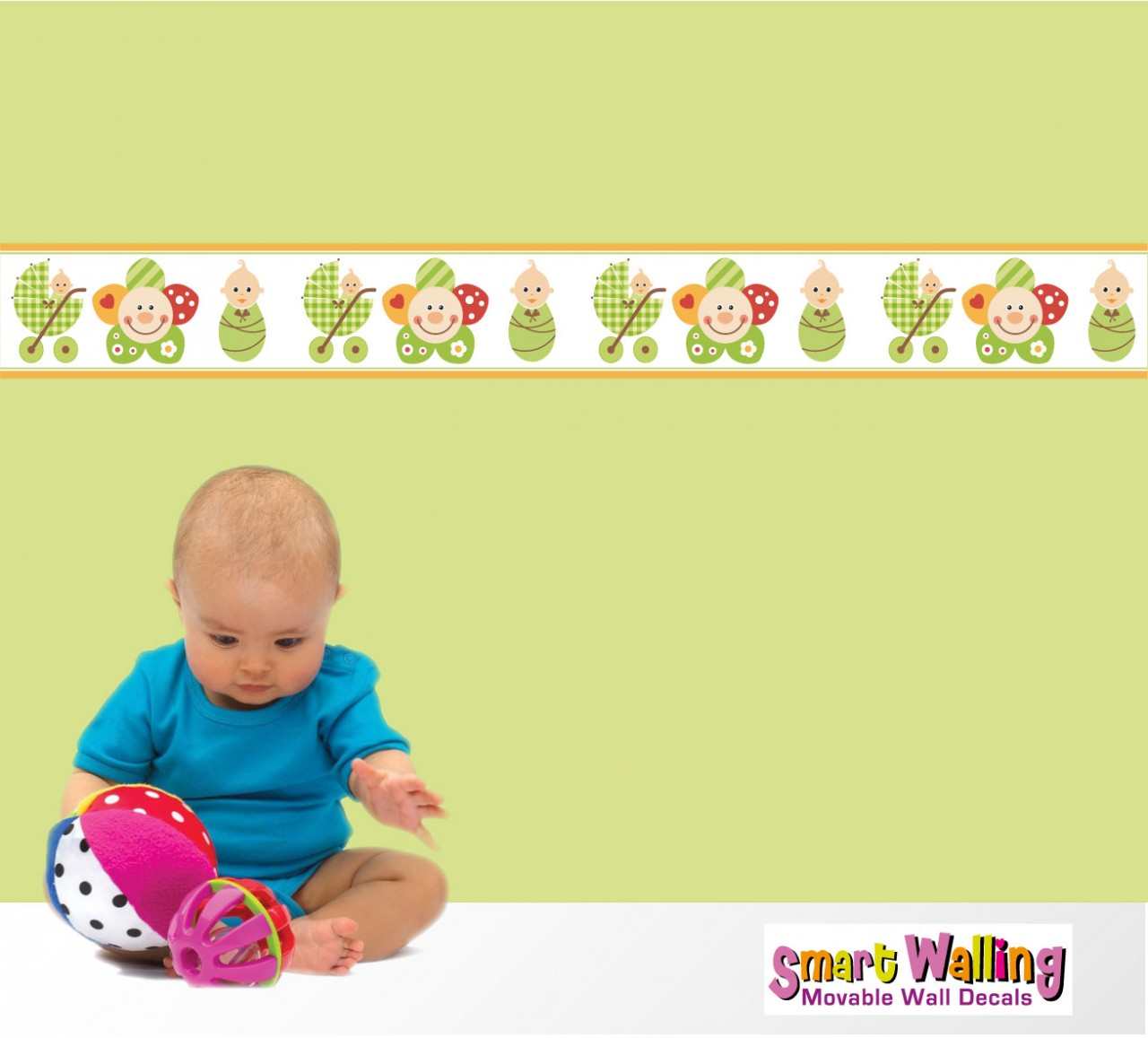 Babies Wallpapers Baby Wallpaper Borders 1280x1157