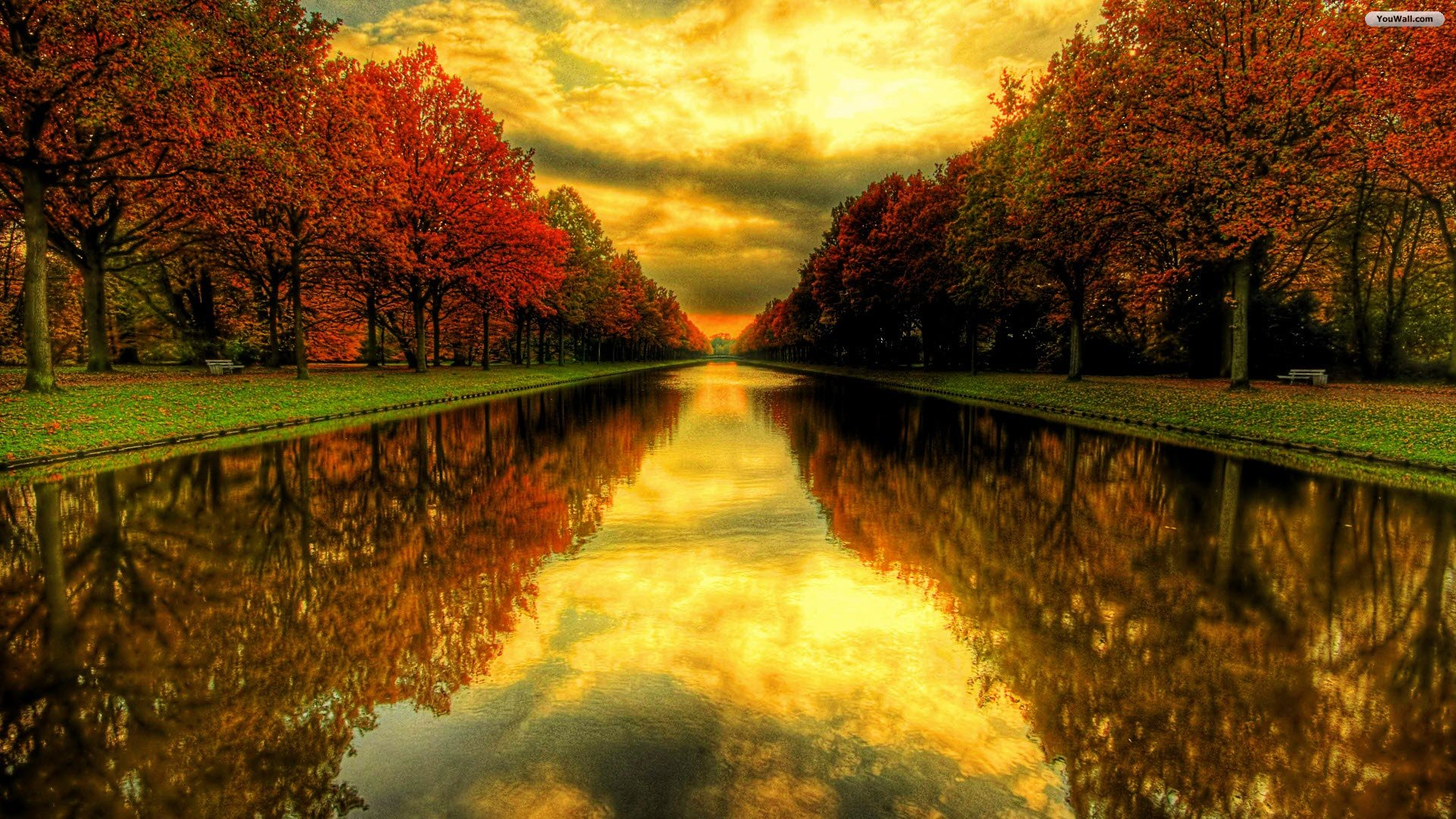 Autumn Backgrounds Wallpaper Widescreen 6977051 1920x1080