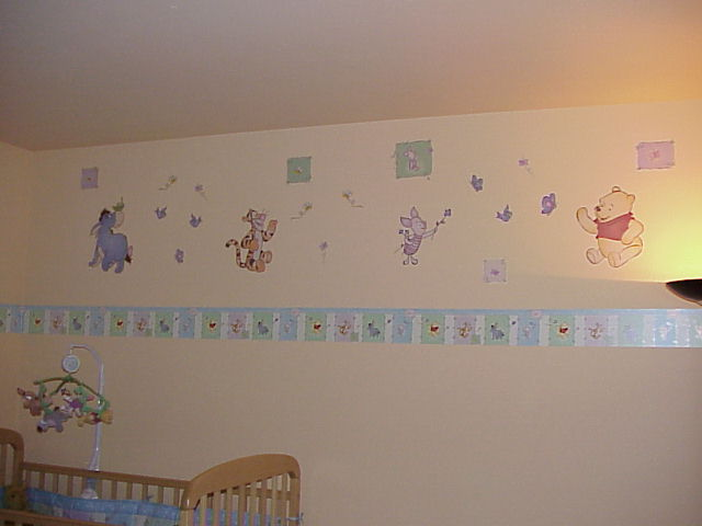 Wallpaper Borders For Nursery Rooms On