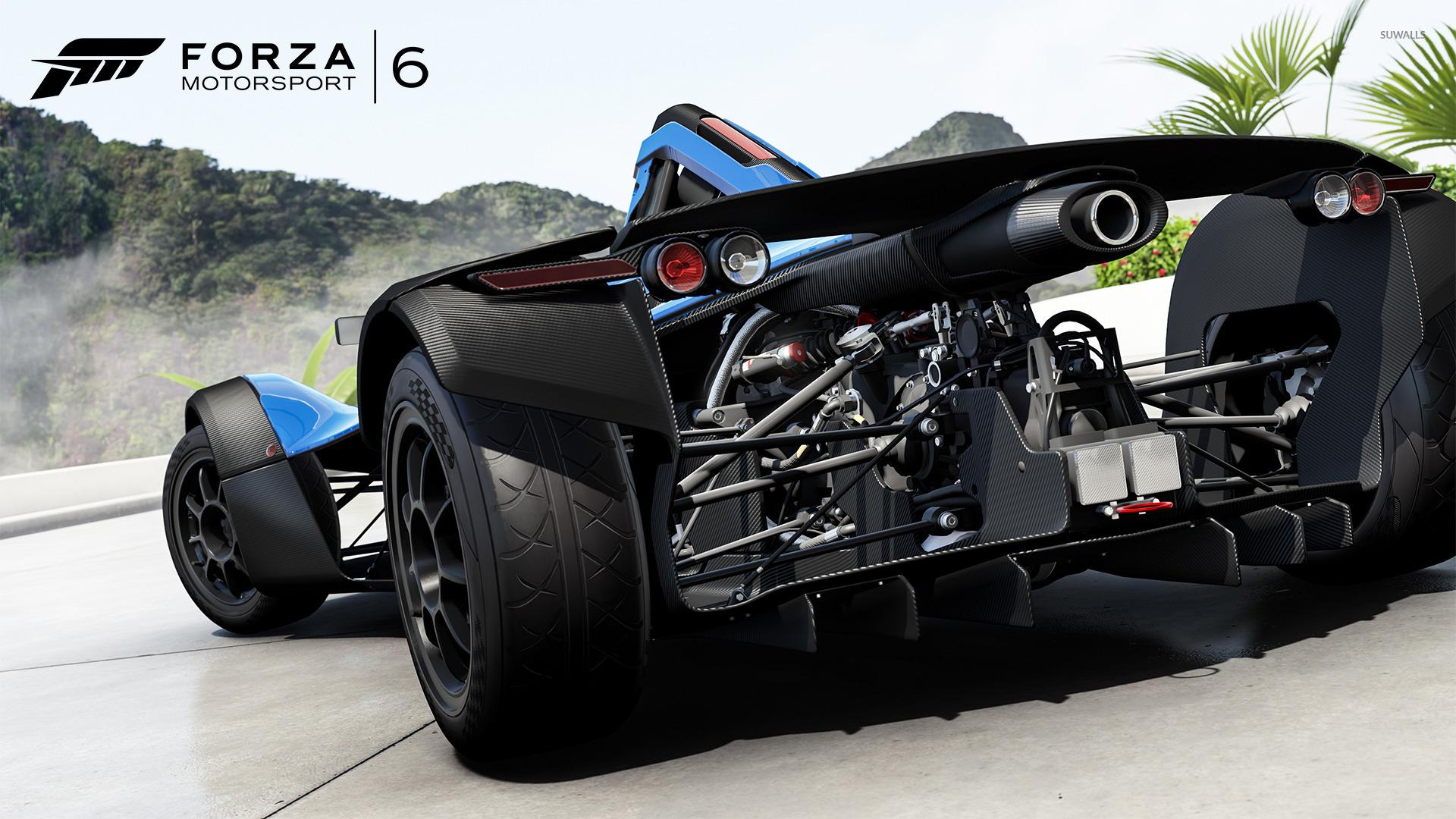 BAC Mono   Forza Motorsport 6 wallpaper   Game wallpapers   49034 1366x768
