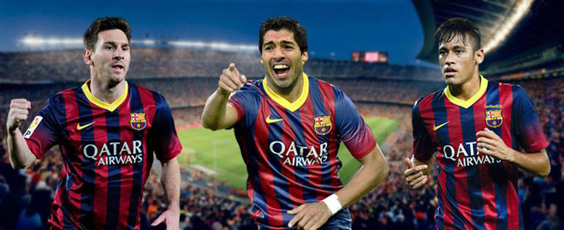 Messi Suarez And Neymar Where Do They All Fit In 800x327