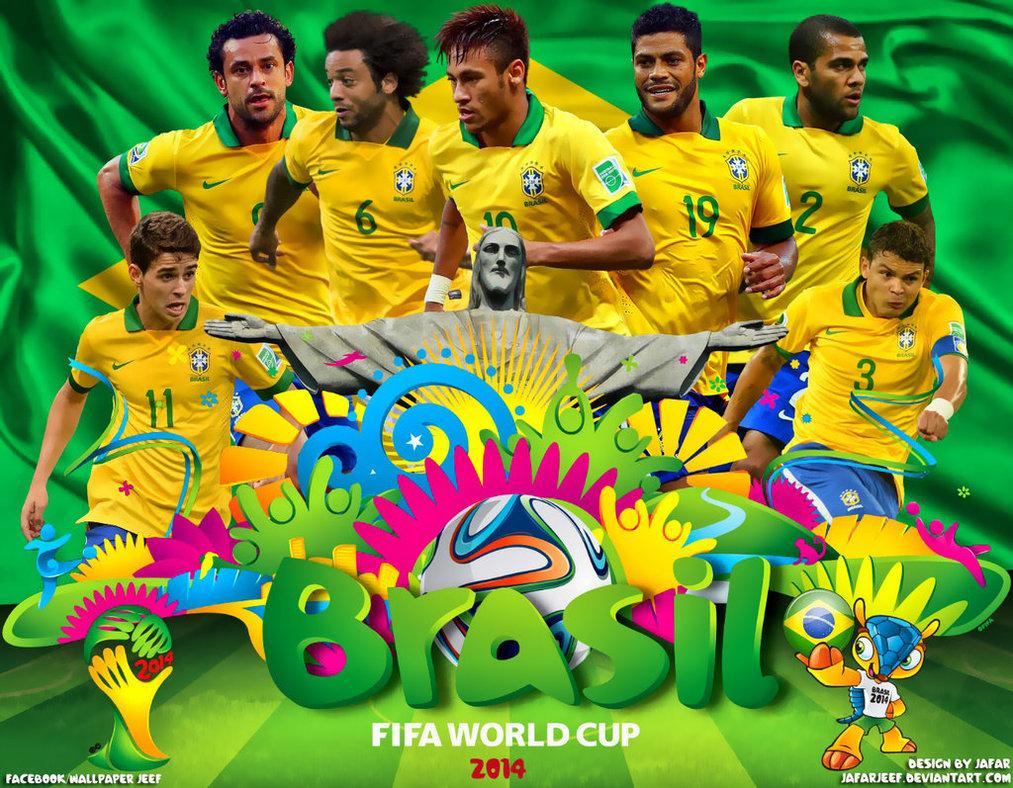 Brasil World Cup 2014 Wallpaper by jafarjeef 1013x788