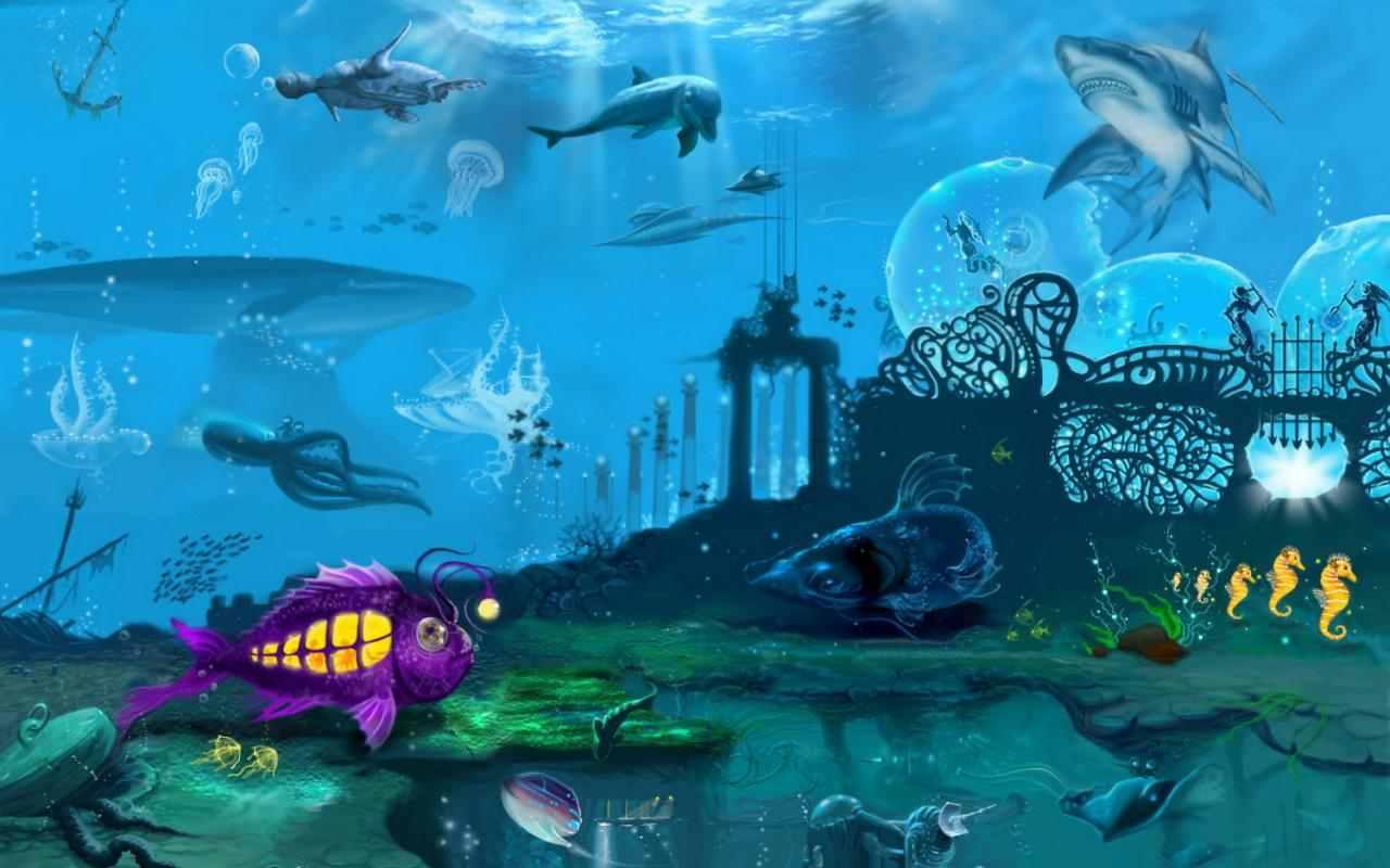 sea life Wallpaper Background 3023 1280x800