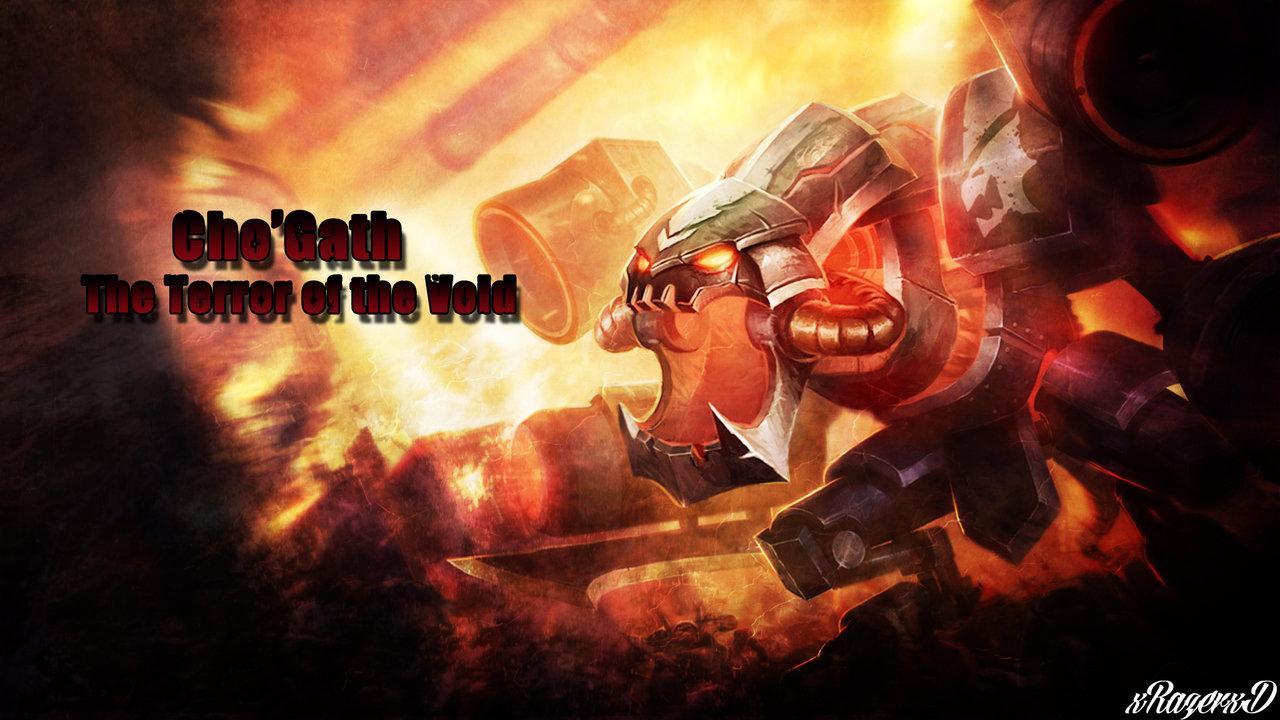 LoL   BattleCast Prime ChoGath Wallpaper xRazerxD by xRazerxD on 1280x720