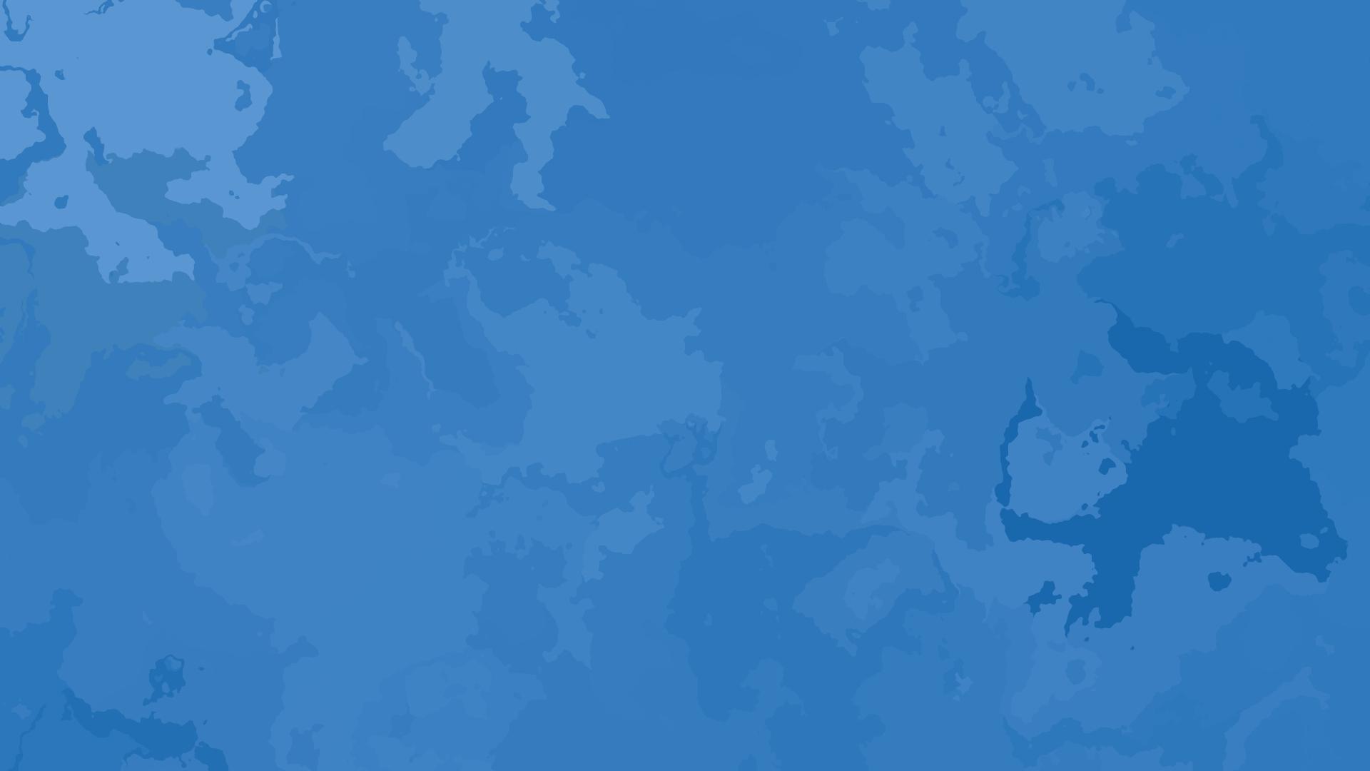 Blue Plain Wallpaper 1920x1080