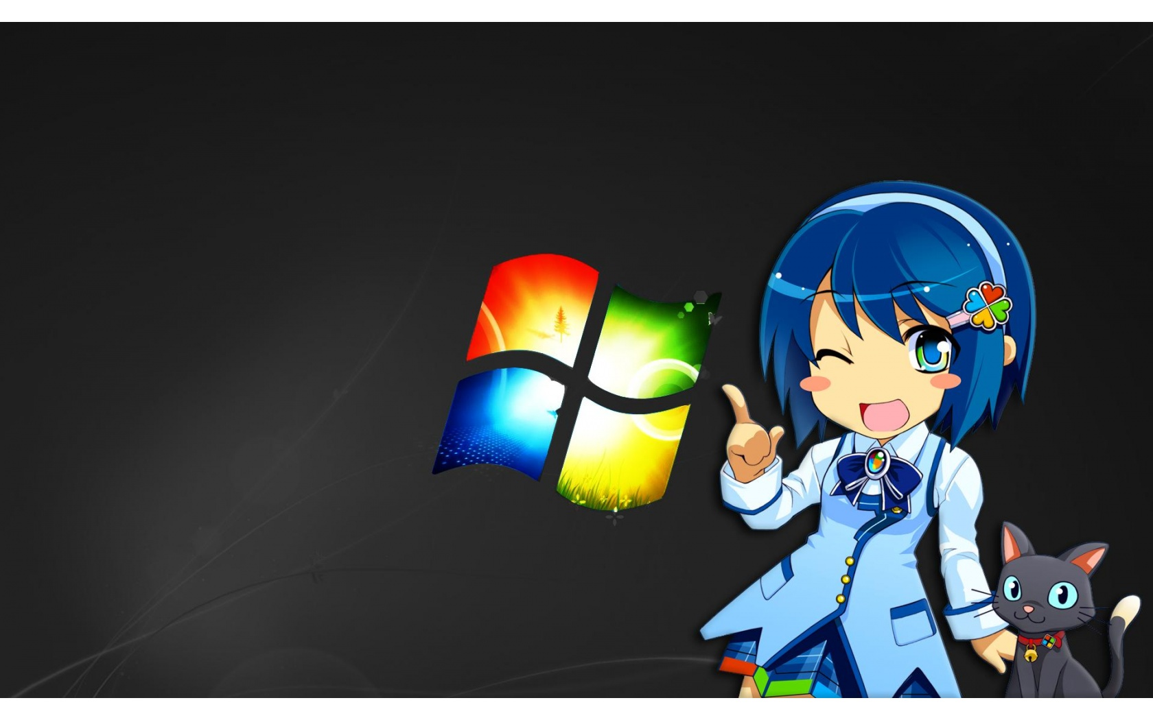 Anime Windows Girl 1680 x 1050 Download Close 1680x1050