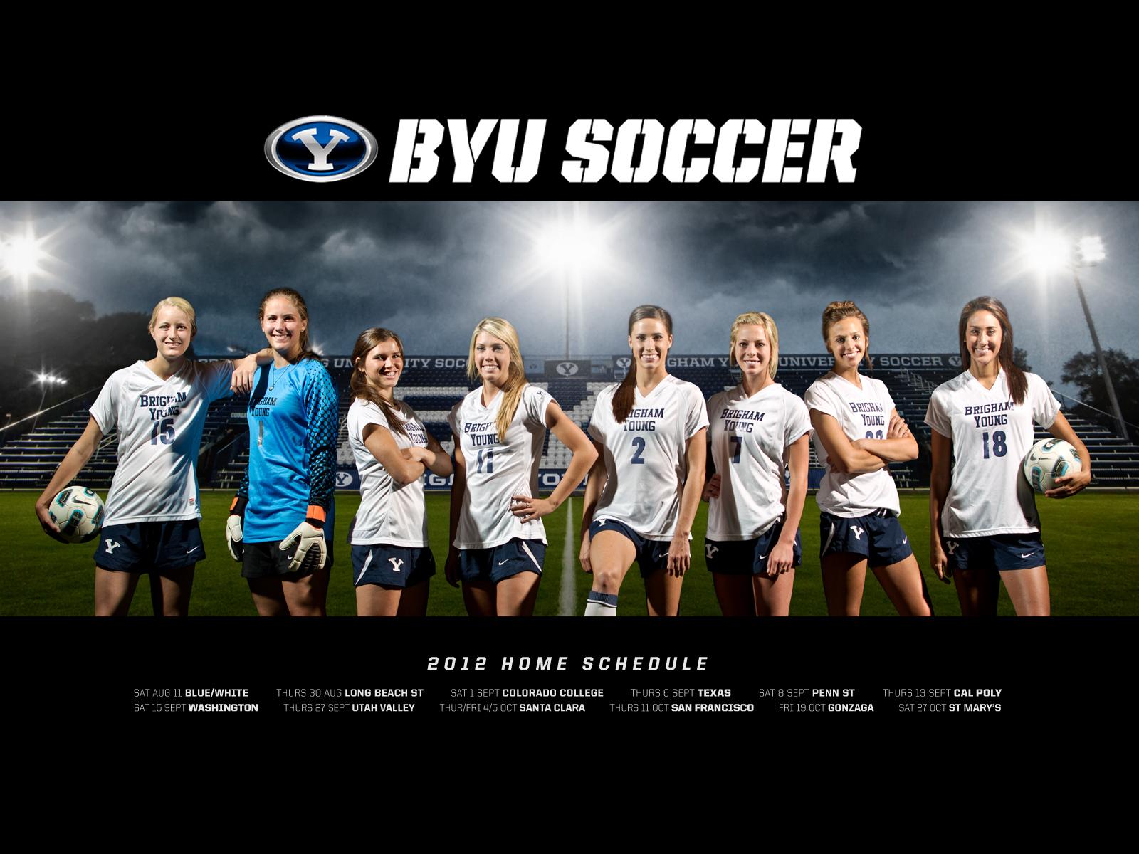 Womens Usa Soccer Wallpaper Byu womens soccer 1600x1200