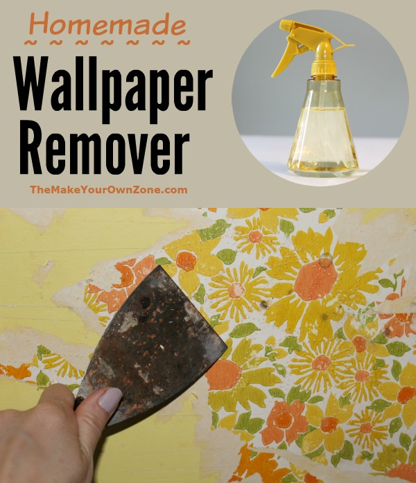 Vinegar Water Homemade Wallpaper Remover   The Make Your Own Zone 600x697