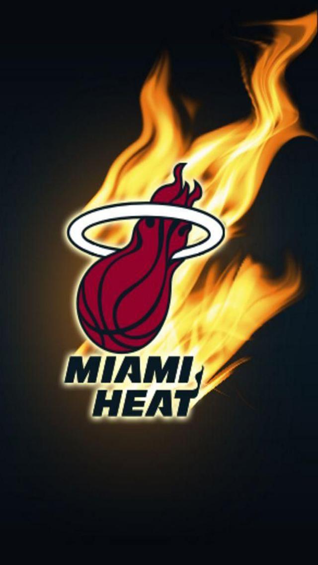 Download NBA Miami Heat HD iPhone 5 Wallpapers HD Wallpapers 640x1136