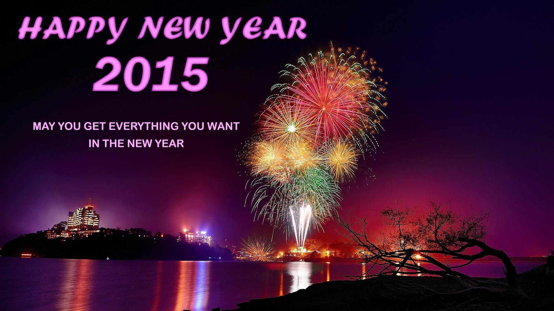 happy new year wishes with pictures 1920x1080