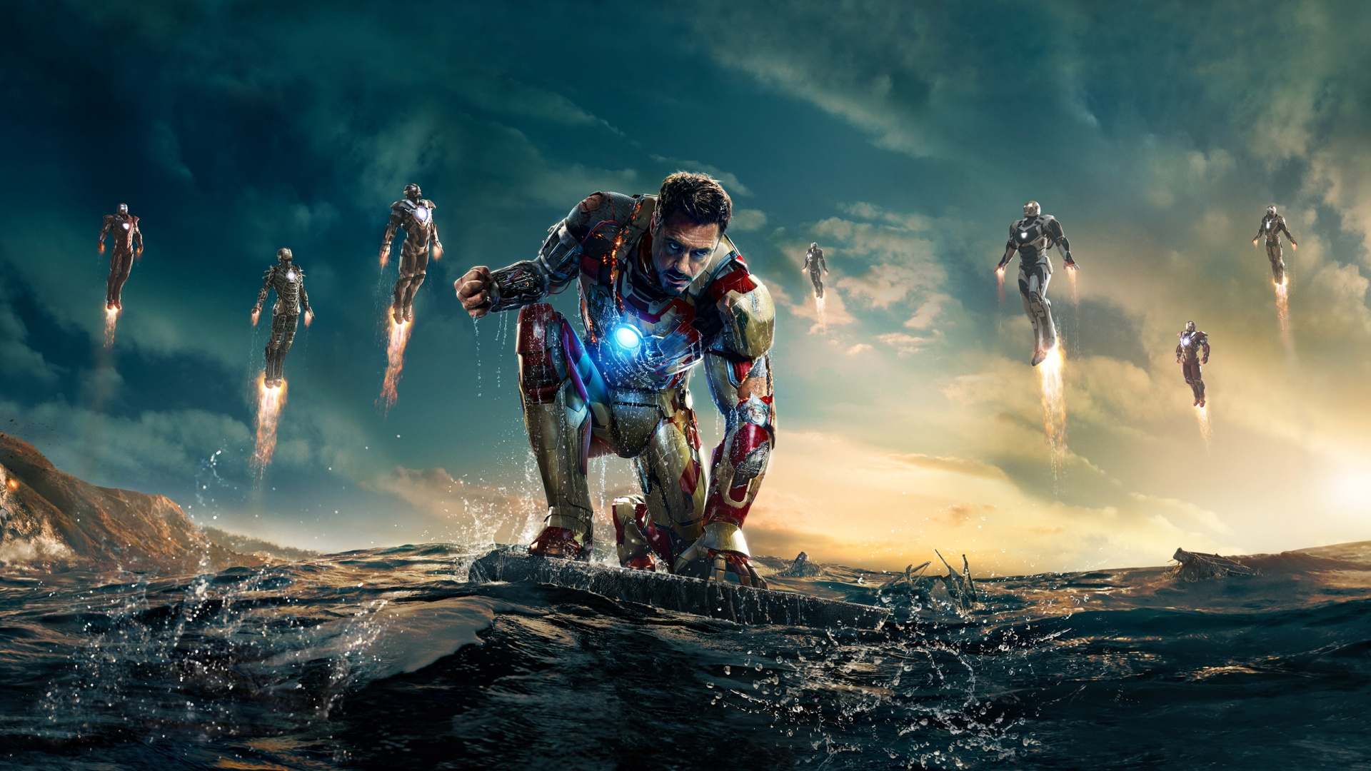 New Iron Man 3 Movie Wallpaper 1920x1080 ImageBankbiz 1920x1080
