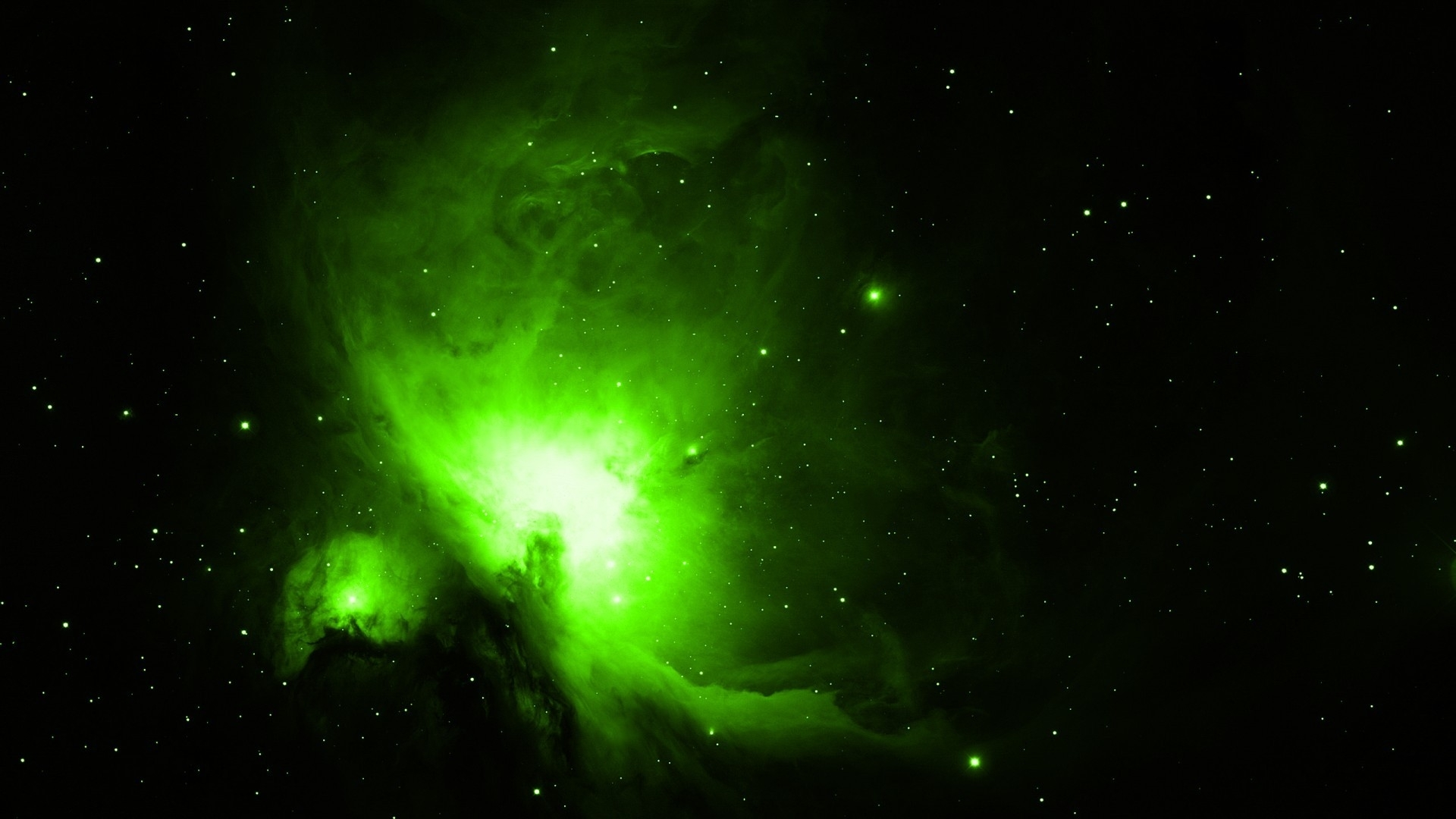 Green Outer Space   3D and Abstract Wallpapers Best HD Wallpapers 1920x1080