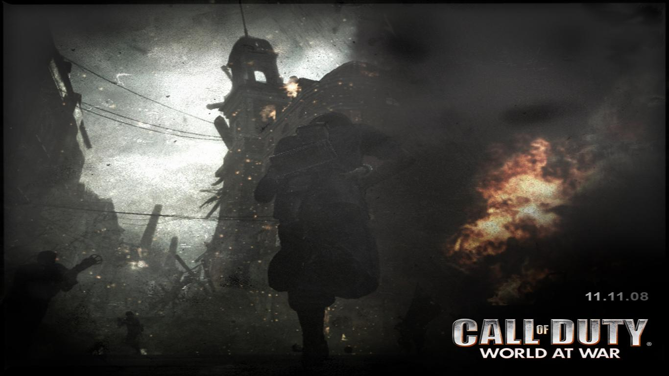 Call Of Duty 5 Wallpaper 12034 Hd Wallpapers in Games   Imagescicom 1366x768