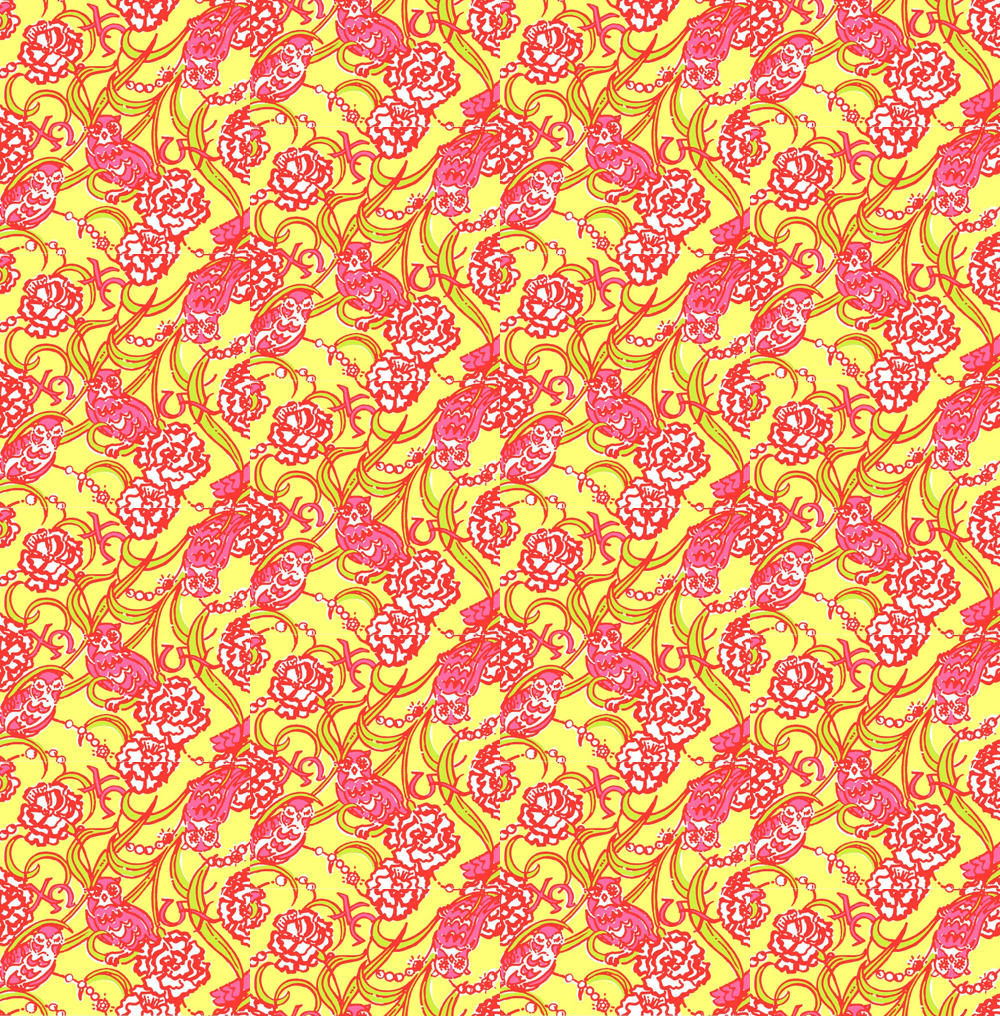 Pictures Lilly Pulitzer Background Print Nude and Porn Pictures 1000x1016