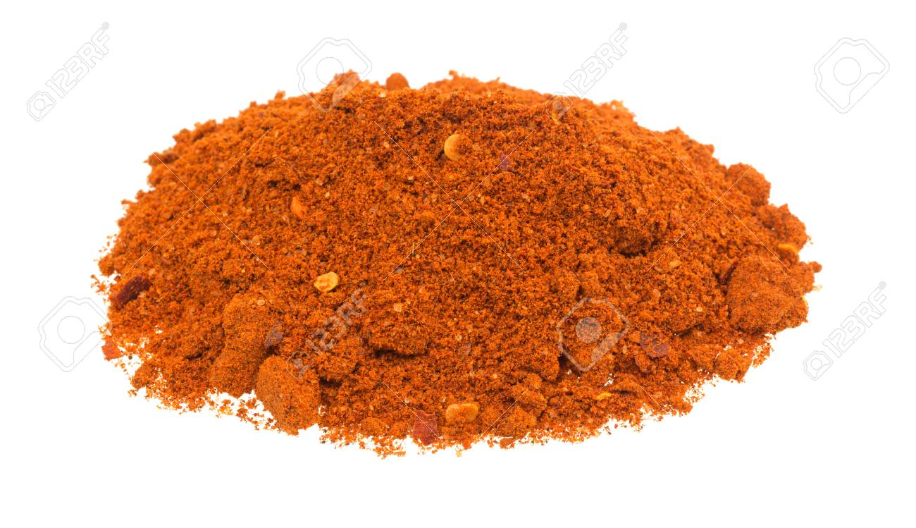 A Small Portion Of Sriracha Seasonings Isolated On A White 1300x749