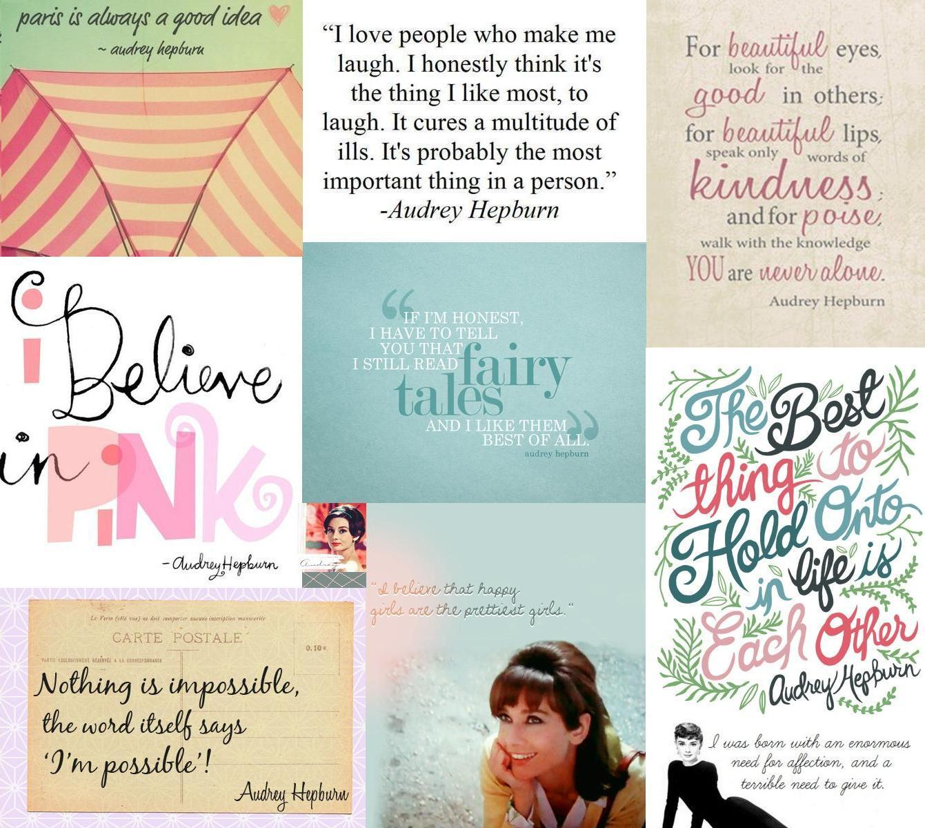 Audrey Hepburn Quotes Colloge   Audrey Hepburn Photo 30663218 1341x1200