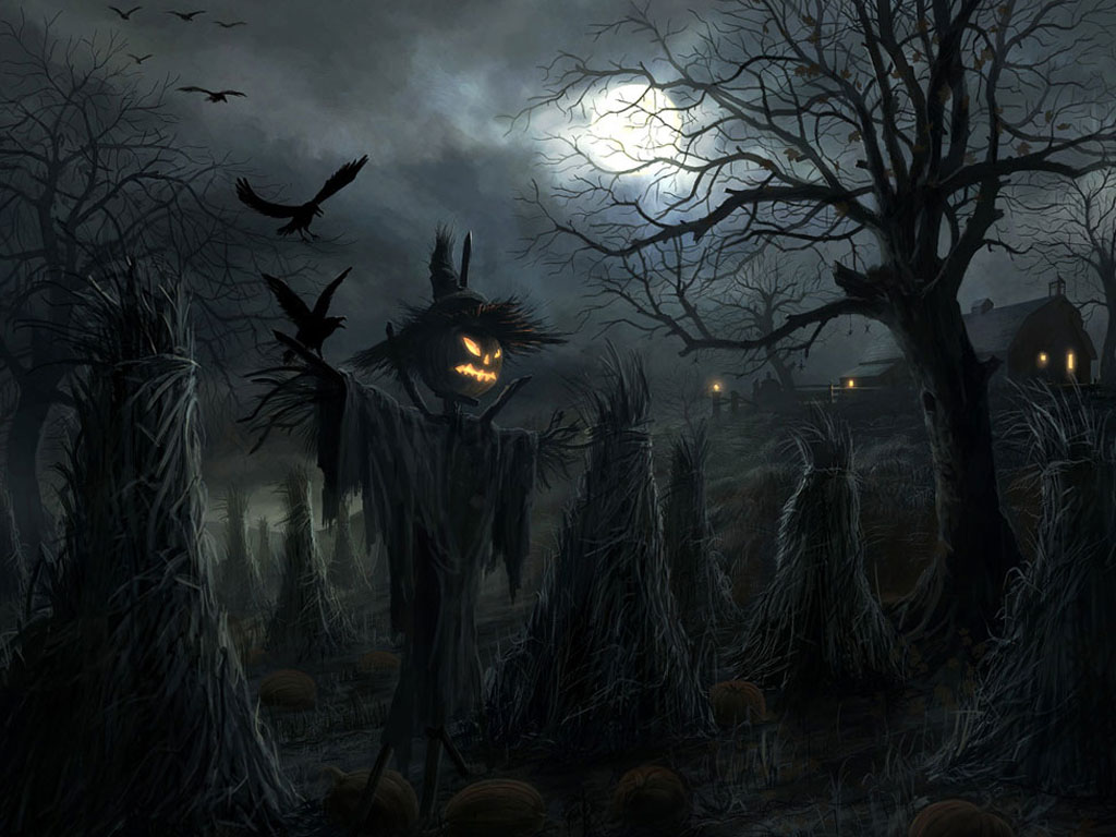 Spooky Halloween Desktop Wallpaper Operation Santa Claus 1024x768