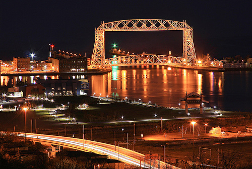 Duluth at Night   Duluth Minnesota Flickr   Photo Sharing 500x336