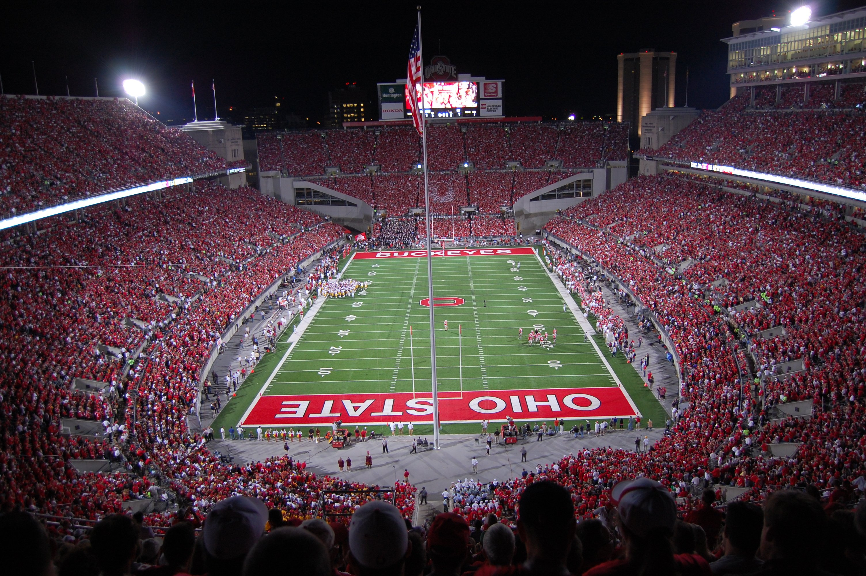 Ohio State Stadium Wallpaper Wallpapersafari