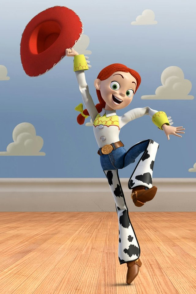 Toy Story Jessie iPhone 4 Wallpaper and iPhone 4S Wallpaper 640x960