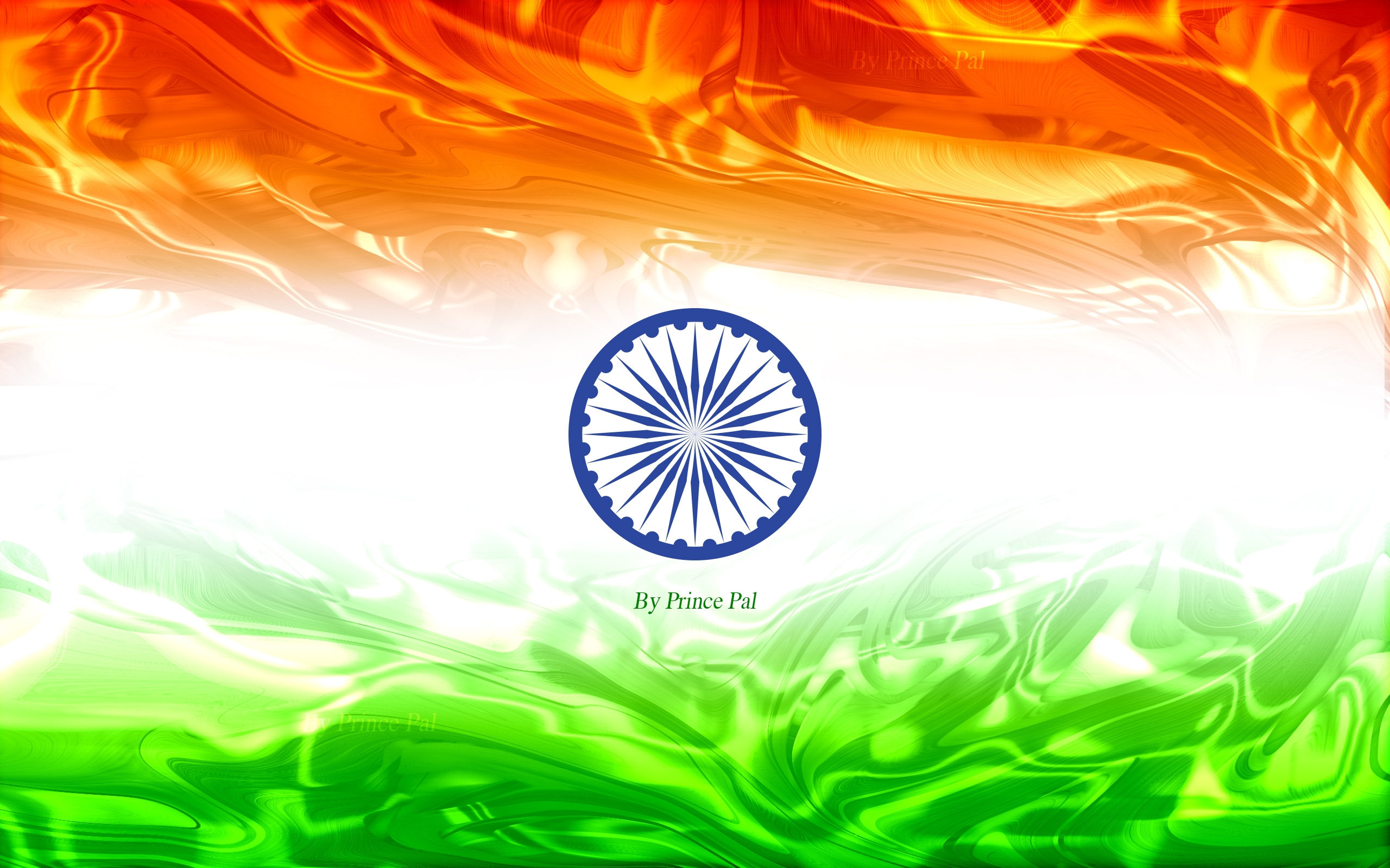 India Flag Wallpaper Collection By Prince Pal on Behance 2560x1600