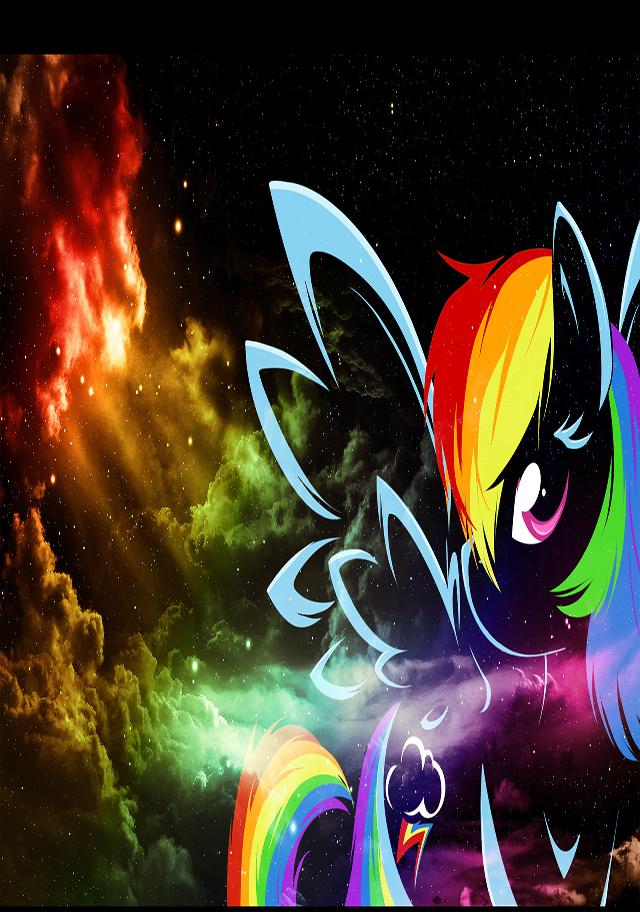 44+ Rainbow Dash Wallpaper iPhone on WallpaperSafari