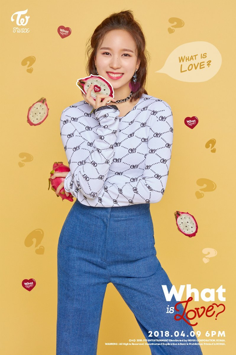 Twice JYP Ent images Minas teaser image for What is Love HD 798x1199