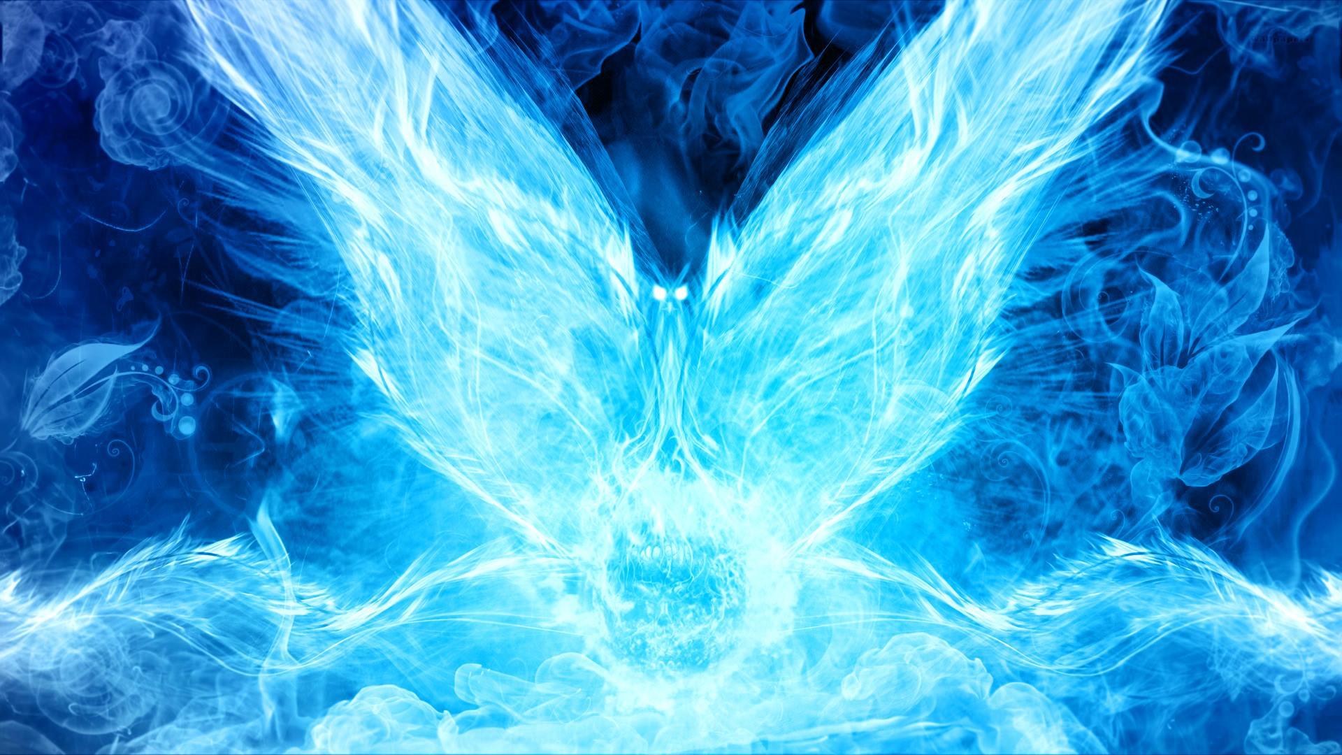 Blue Flames Wallpaper 1920x1080