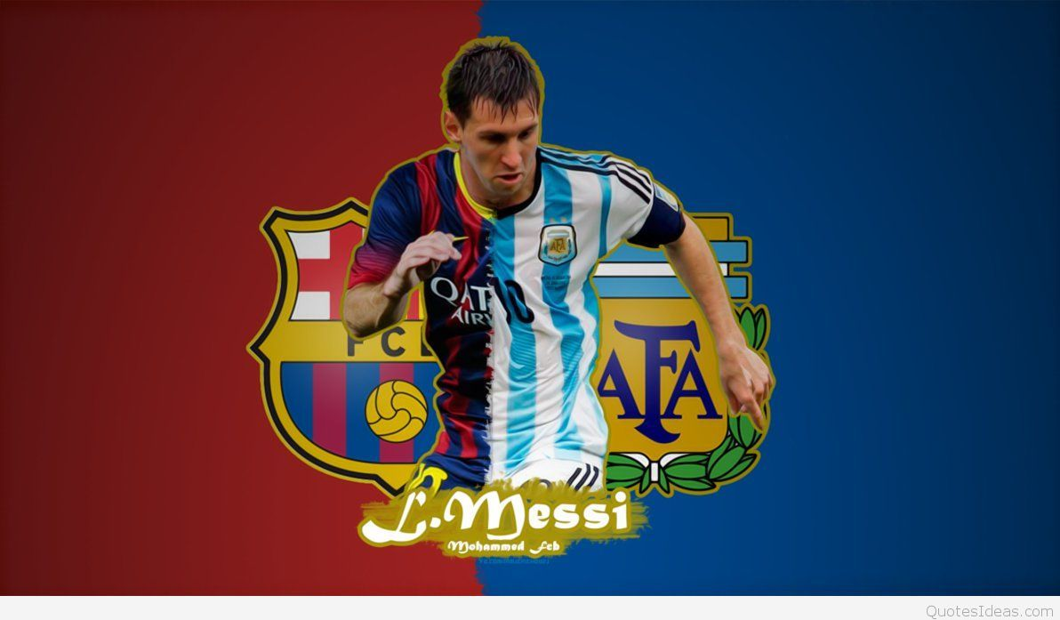 Messi WallpaperBarcelona Argentina Lionel messi wallpapers 1192x697