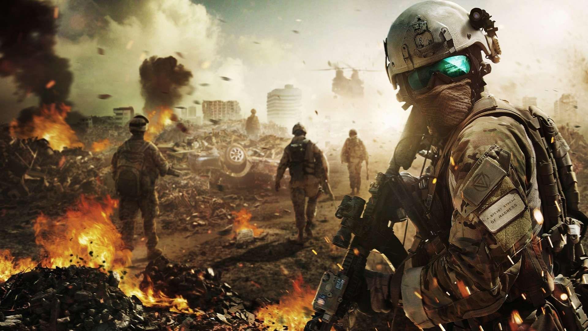 Battlefield Soldier HD Wallpaper 1080p sdsdasdasd Gaming 1920x1080