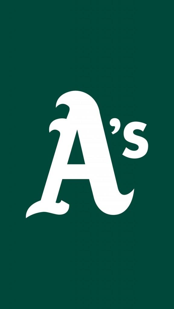 Oakland Athletics iPhone Wallpaper 576x1024