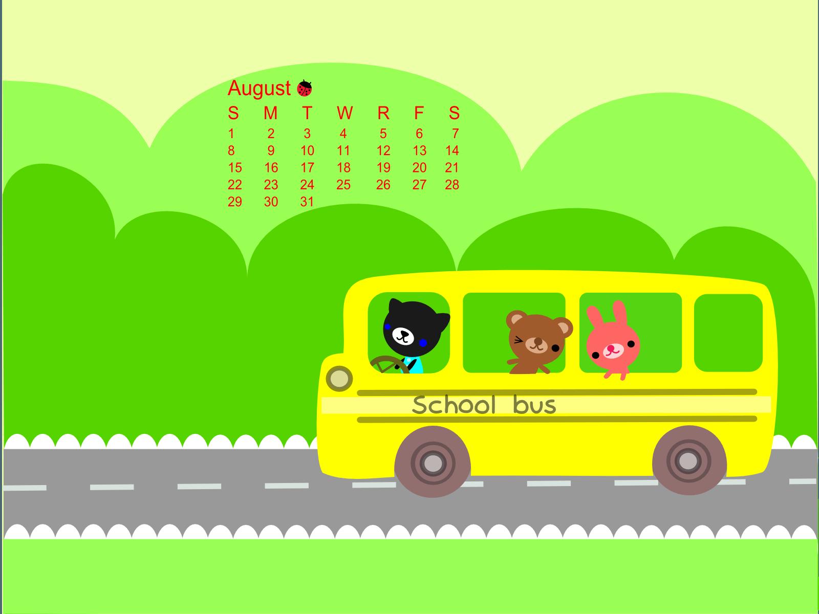 School Bus Wallpapers 1600x1200