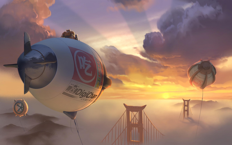 Big Hero 6 2014 Concept Art Wallpapers HD Wallpapers 2880x1800