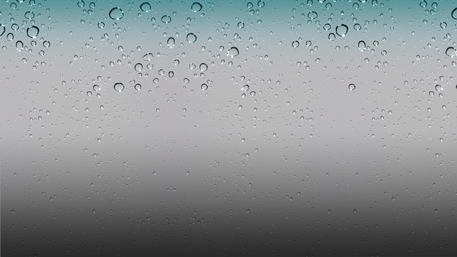 iPhone Raindrops Wallpaper 1920x1080