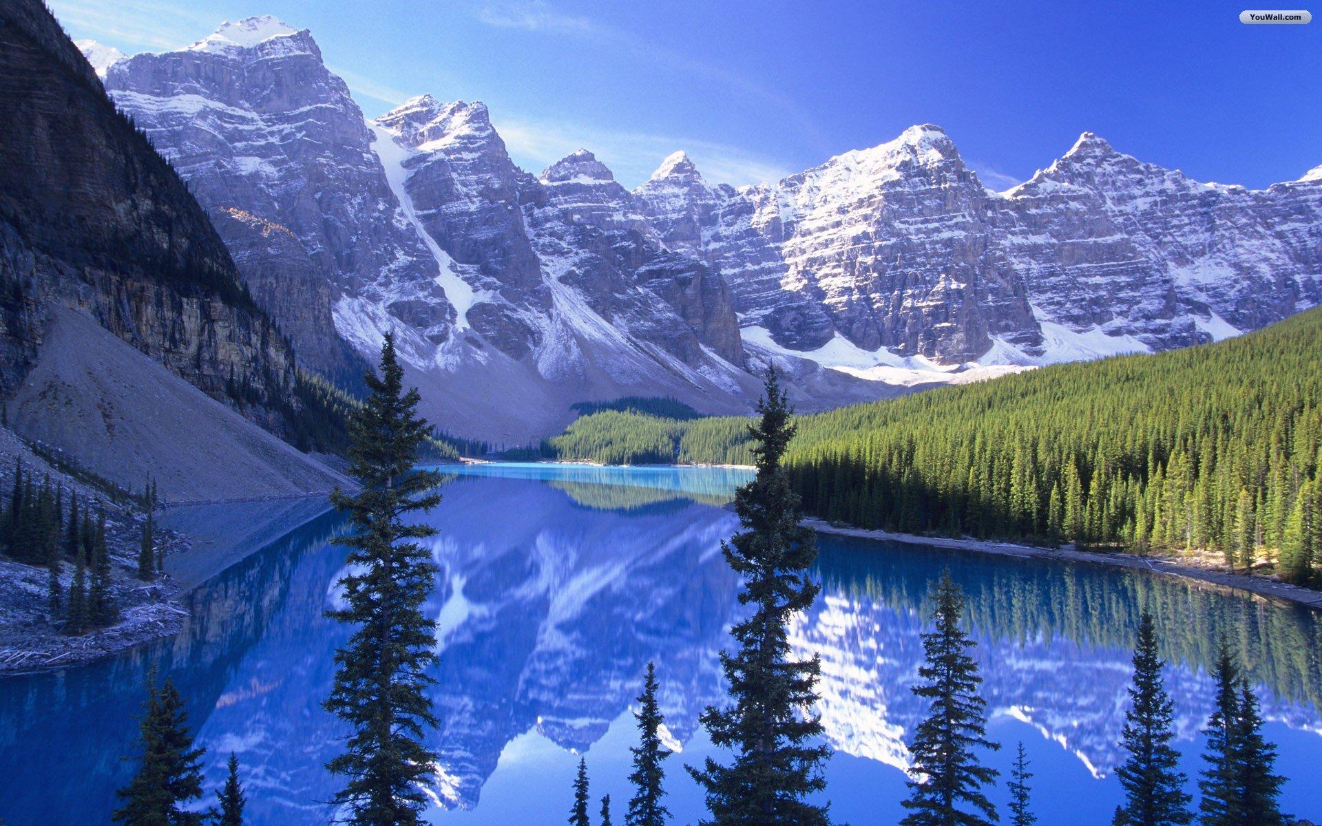 Moraine Lake Canada Wallpaper   wallpaperwallpapersfree wallpaper 1920x1200