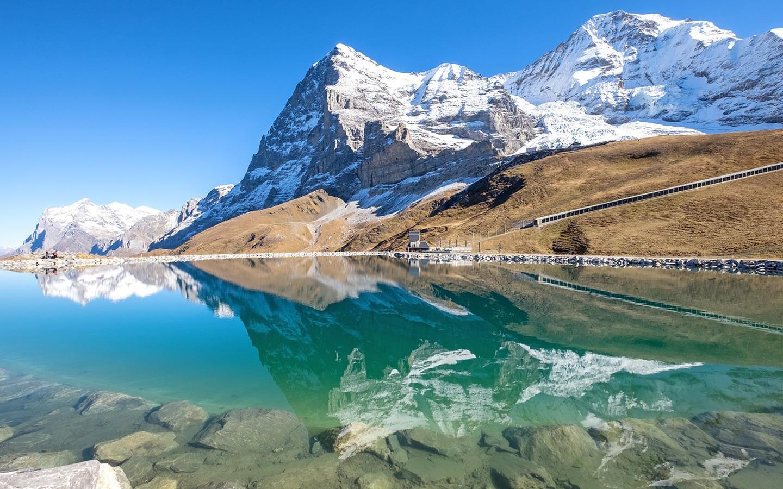 Jungfrau Railways Switzerlands scenic mountain trains On the 1440x900