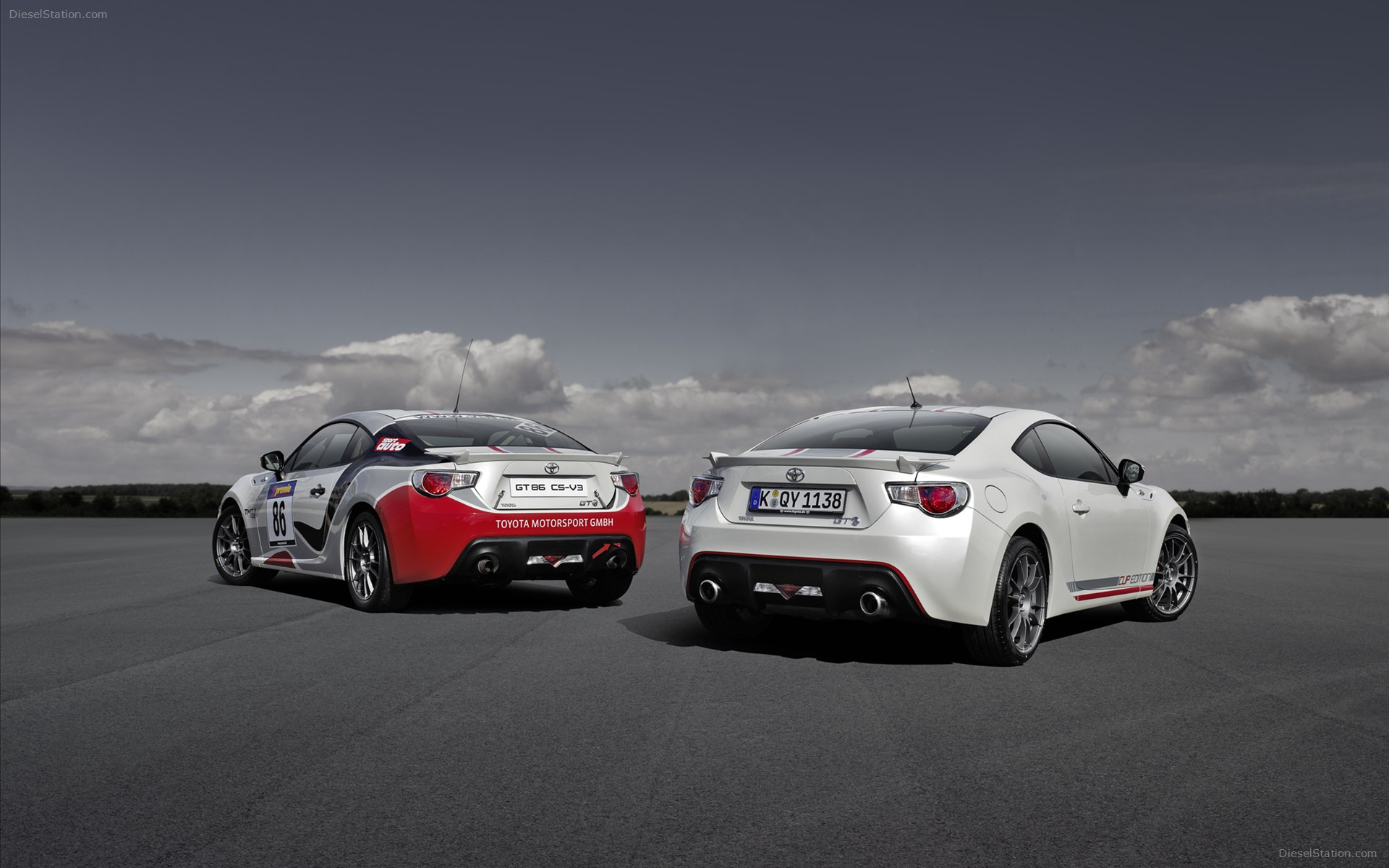 Toyota GT86 Cup Edition 2013 Widescreen Exotic Car 1920x1200