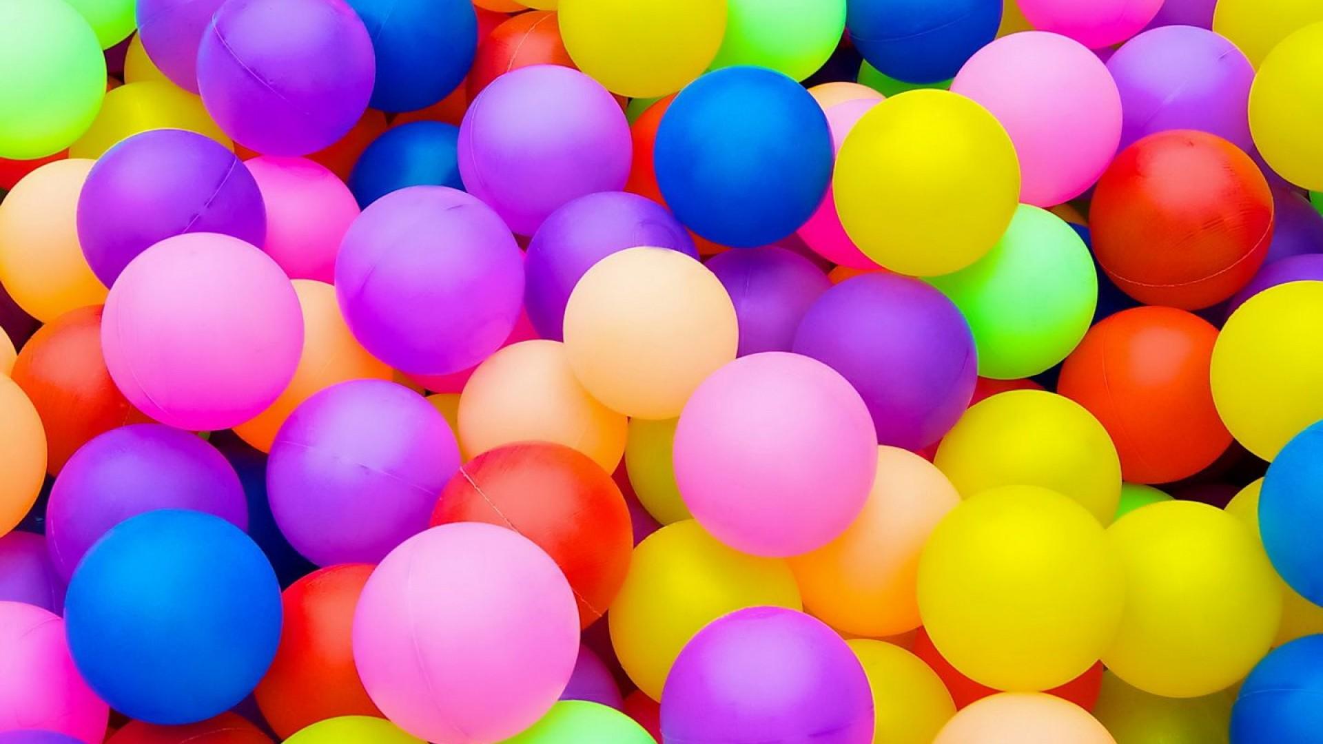 Colourful Birthday Balloons HD Wallpaper 1920x1080