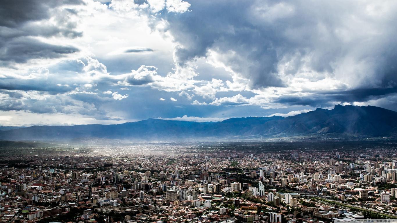 Ciudad de Cochabamba Bolivia HD 4K HD Desktop Wallpaper for 4K 1366x768