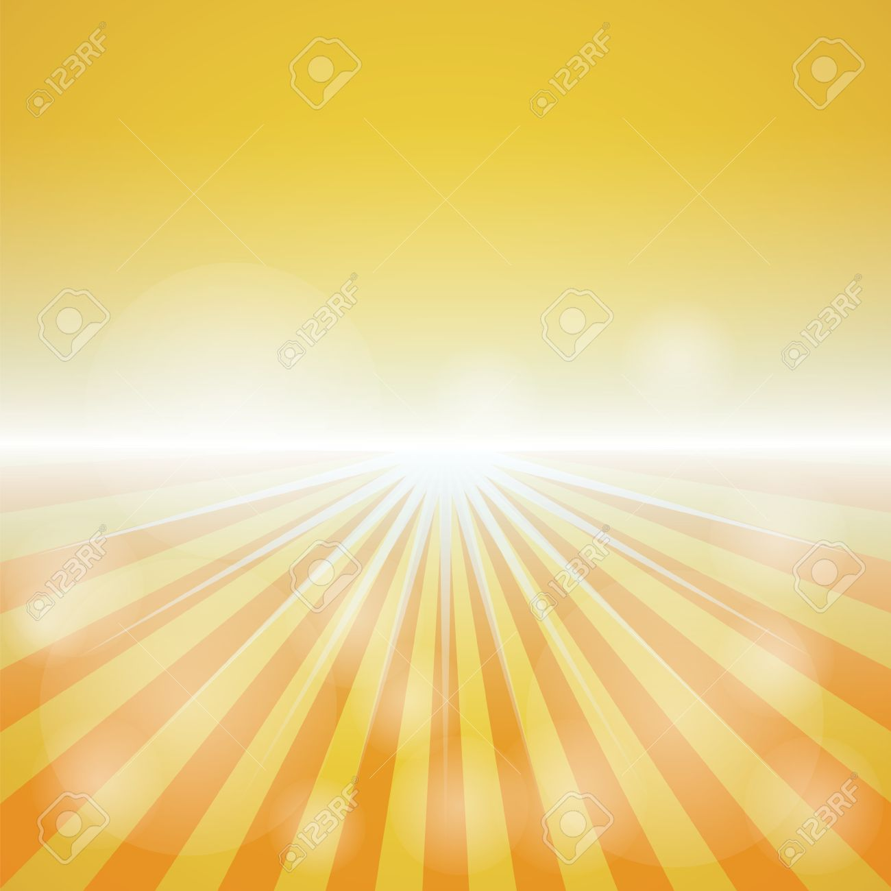 Empty Yellow red Color Background With Sunburst At The Lower 1300x1300