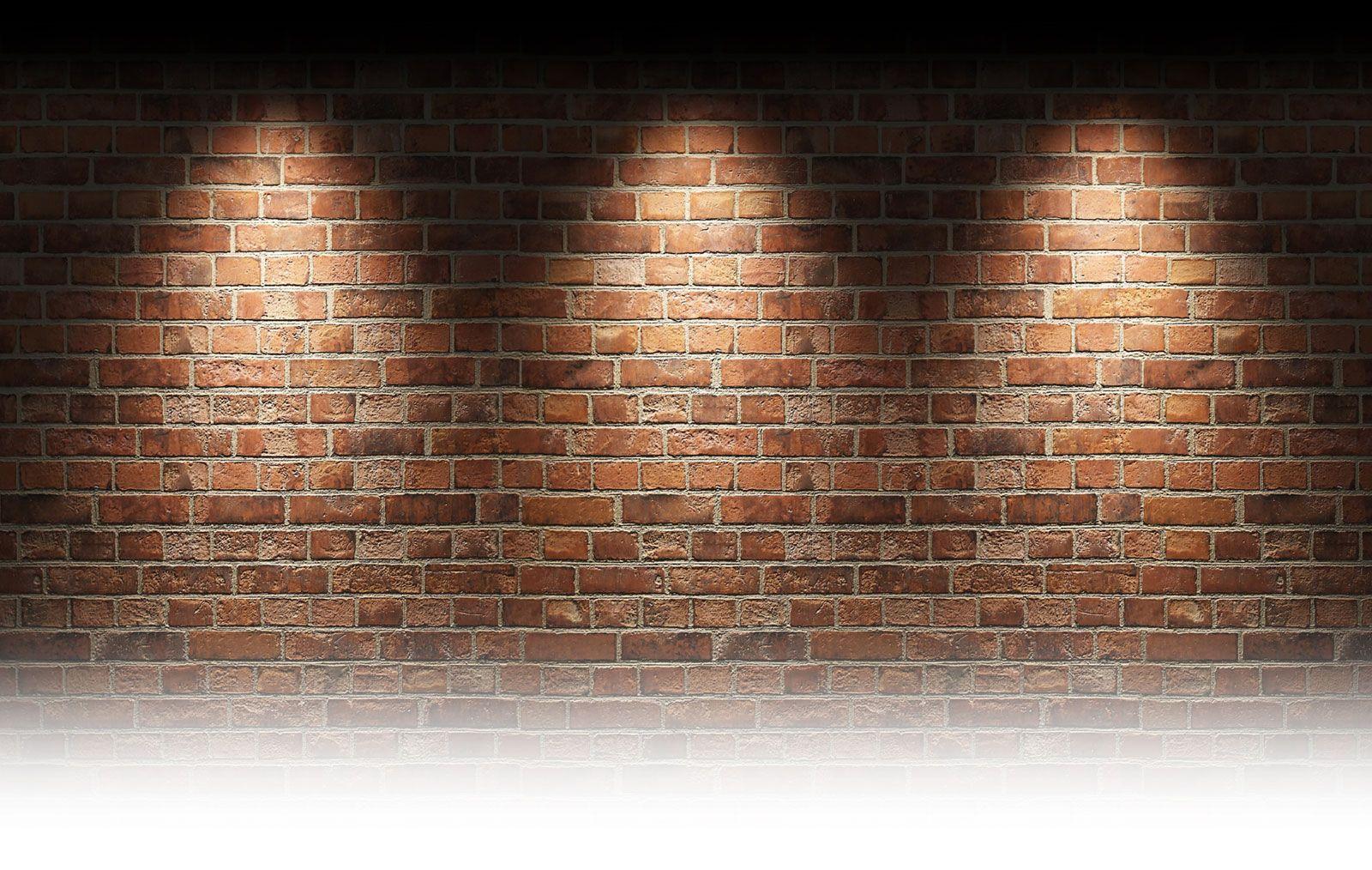 Lighting on brick wall Kitchen in 2019 Brick wall wallpaper 1600x1014