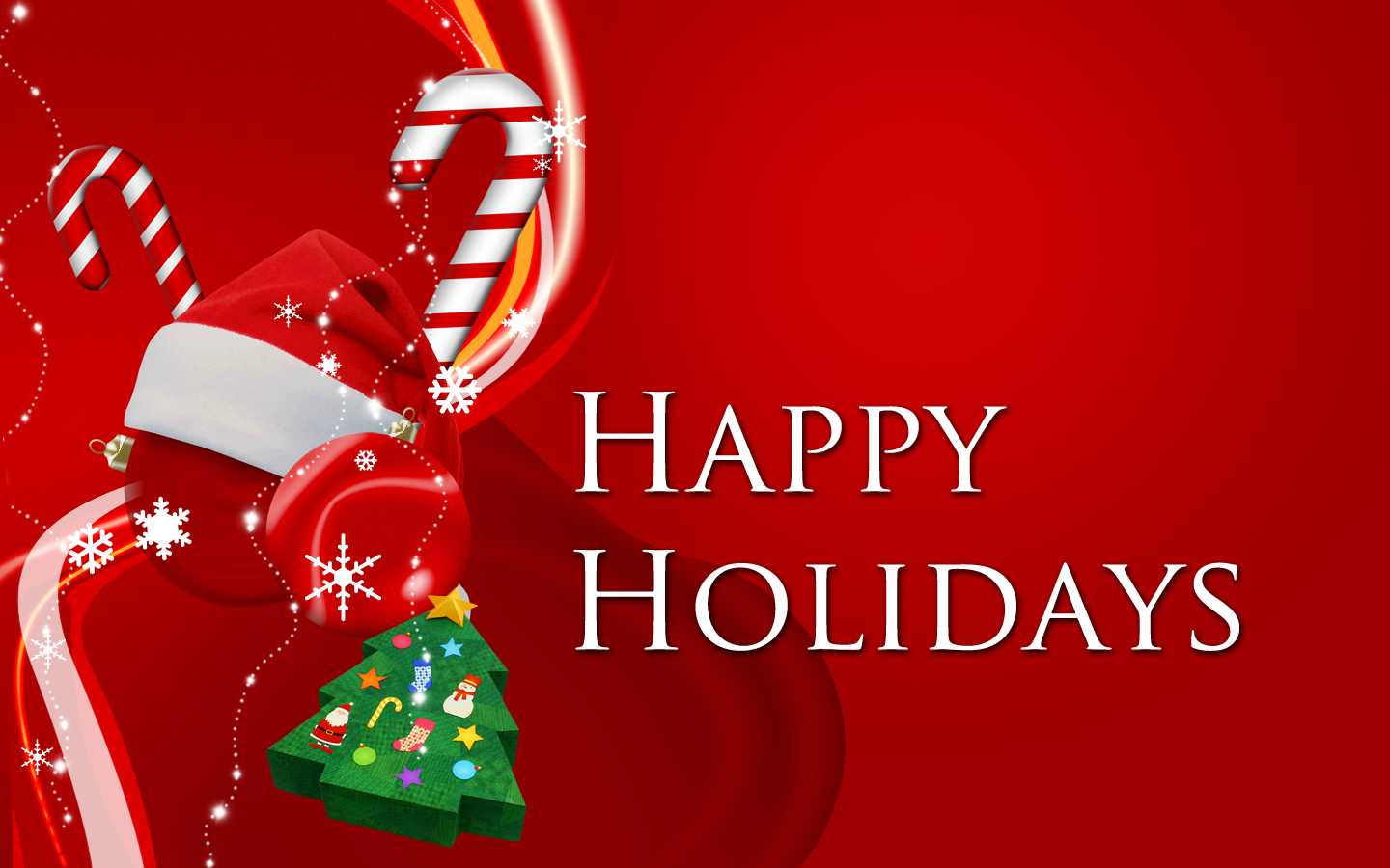 Download Happy Holidays Wallpapers Happy Holidays Wallpapers 1440x900
