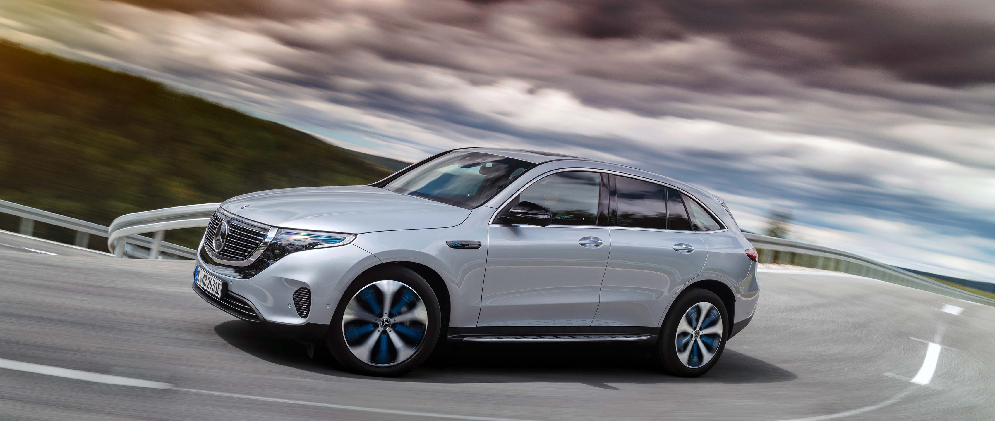 The new Mercedes Benz EQC Electric Intelligence 3400x1440