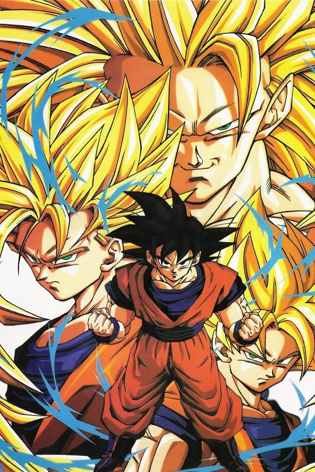 Goku Super Saiyan IPhone 44S Wallpaper HD Iwallpaper Wallpapers 640x960