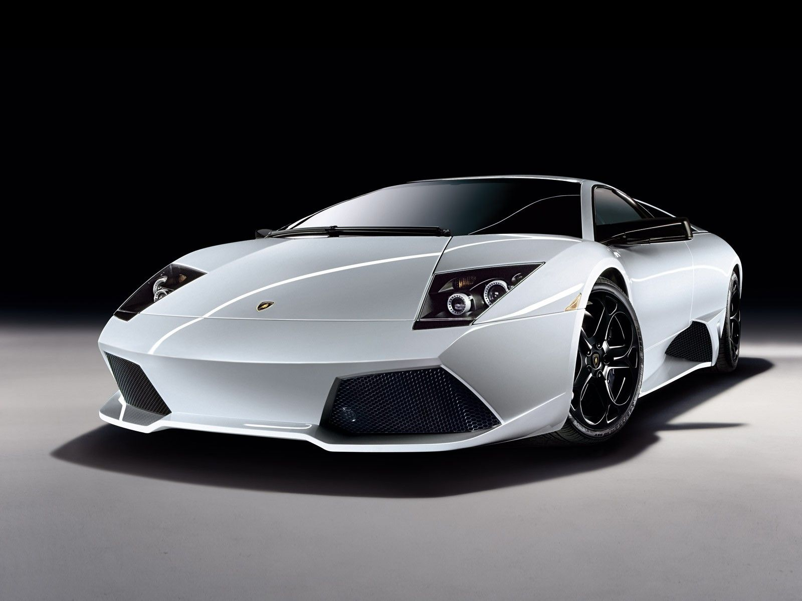 White Lamborghini Wallpapers 1600x1200