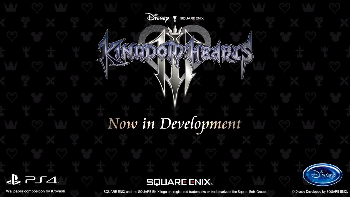 Kingdom Hearts 3 Wallpaper by Krovash 1191x670