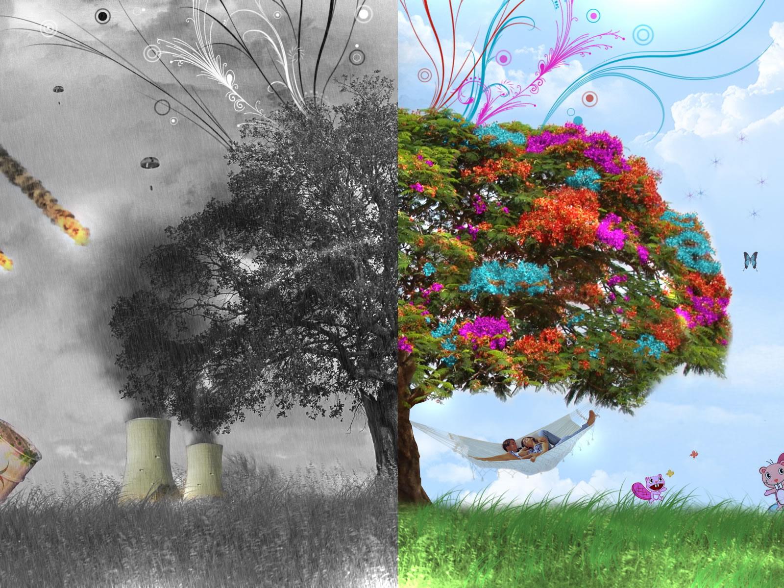 Nature Wallpapers 3d Tree Wallpaper 1600x1200