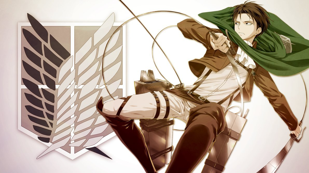 Attack on Titan   Levi v2 by Welterz 1191x670